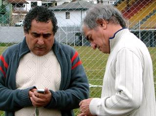 Granitti e Coelho trocam telefones. Início de negociação.