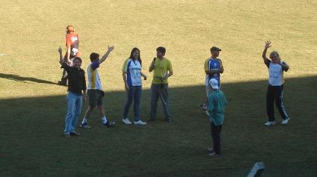 Natália, homenageada pela diretoria do JAC, recebeu placa das mão do prefeito e a camisa do JAC da diretoria. Forte ligação com o esporte de Joaçaba, além de ex jogadora da AJOV, é filha de um ex jogador da ADJ (Associação Desportiva Joaçaba)