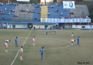 Torcida fúria do Leão marcou presença na partida.