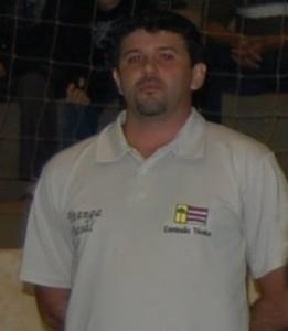 """O investidor que não tem dinheiro, o ex jogador Cidão (Sidnei Antonio Shardong) O """"dono"""" da Gol de Ouro"""