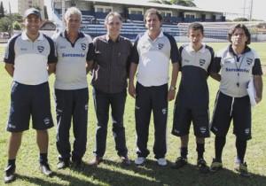Sanches virou Maradona (auxiliar técnico).
